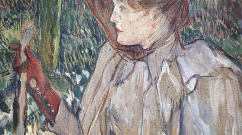 Donna con i guanti - Toulouse-Lautrec - Honorine Platzer