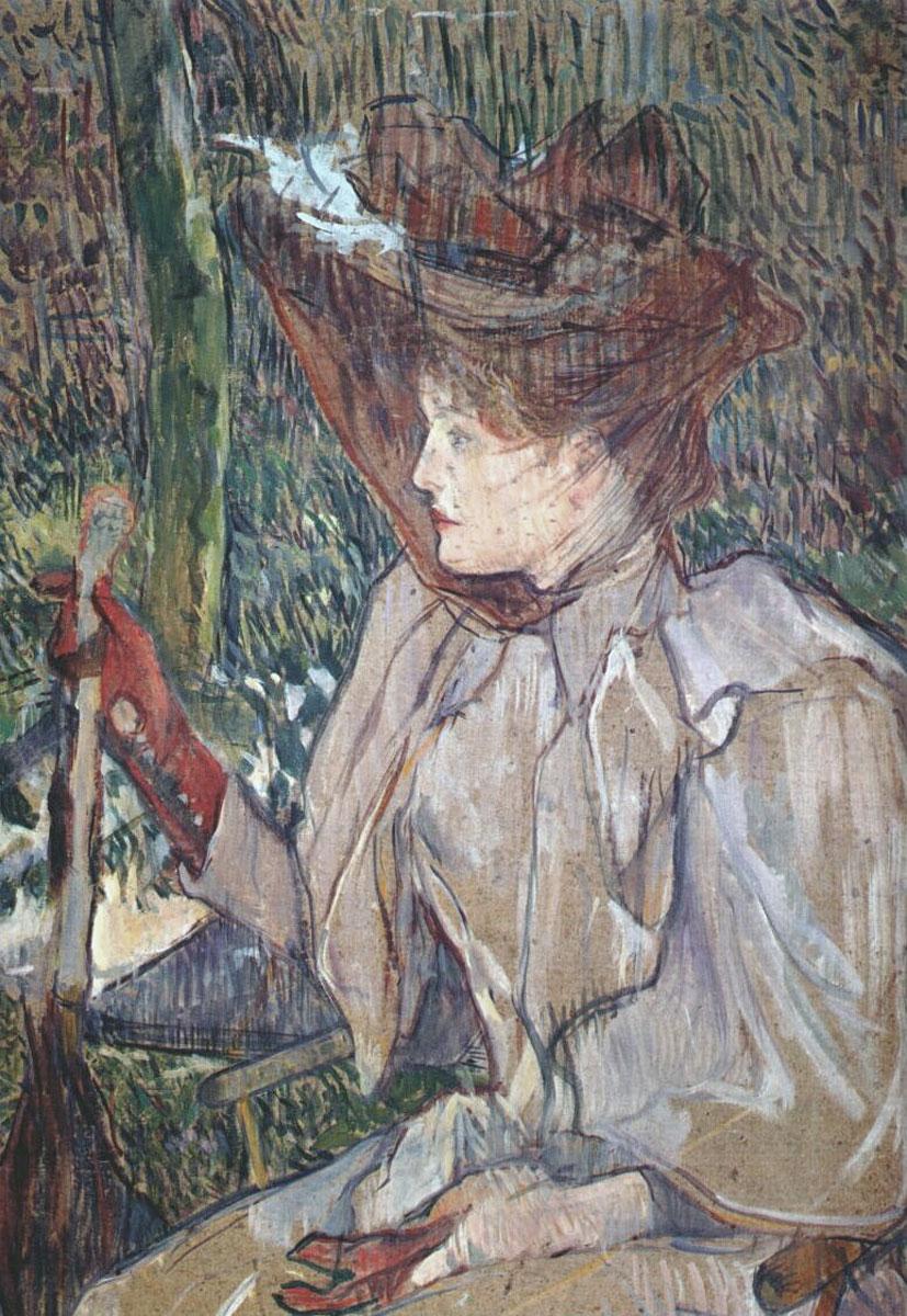 Donna con i guanti (Honorine Platzer) – La femme aux gants