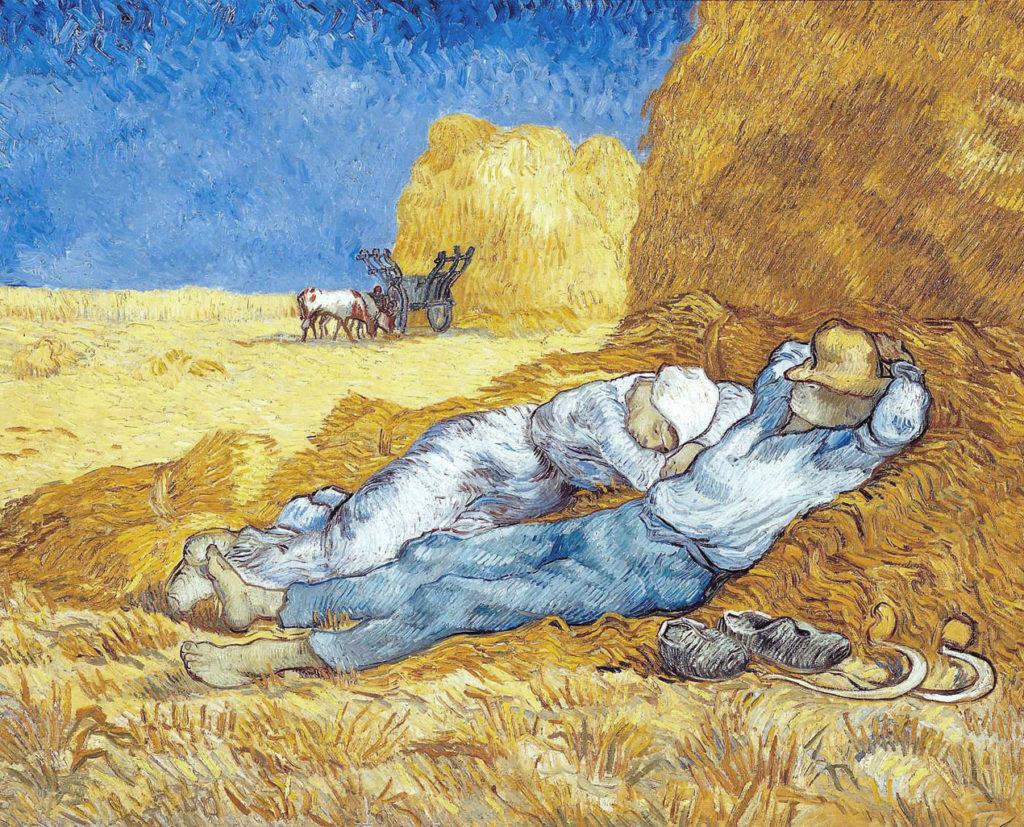 La meridiana - La siesta- Van Gogh