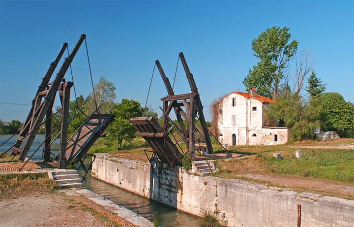 Ponte di Langlois - fotografia