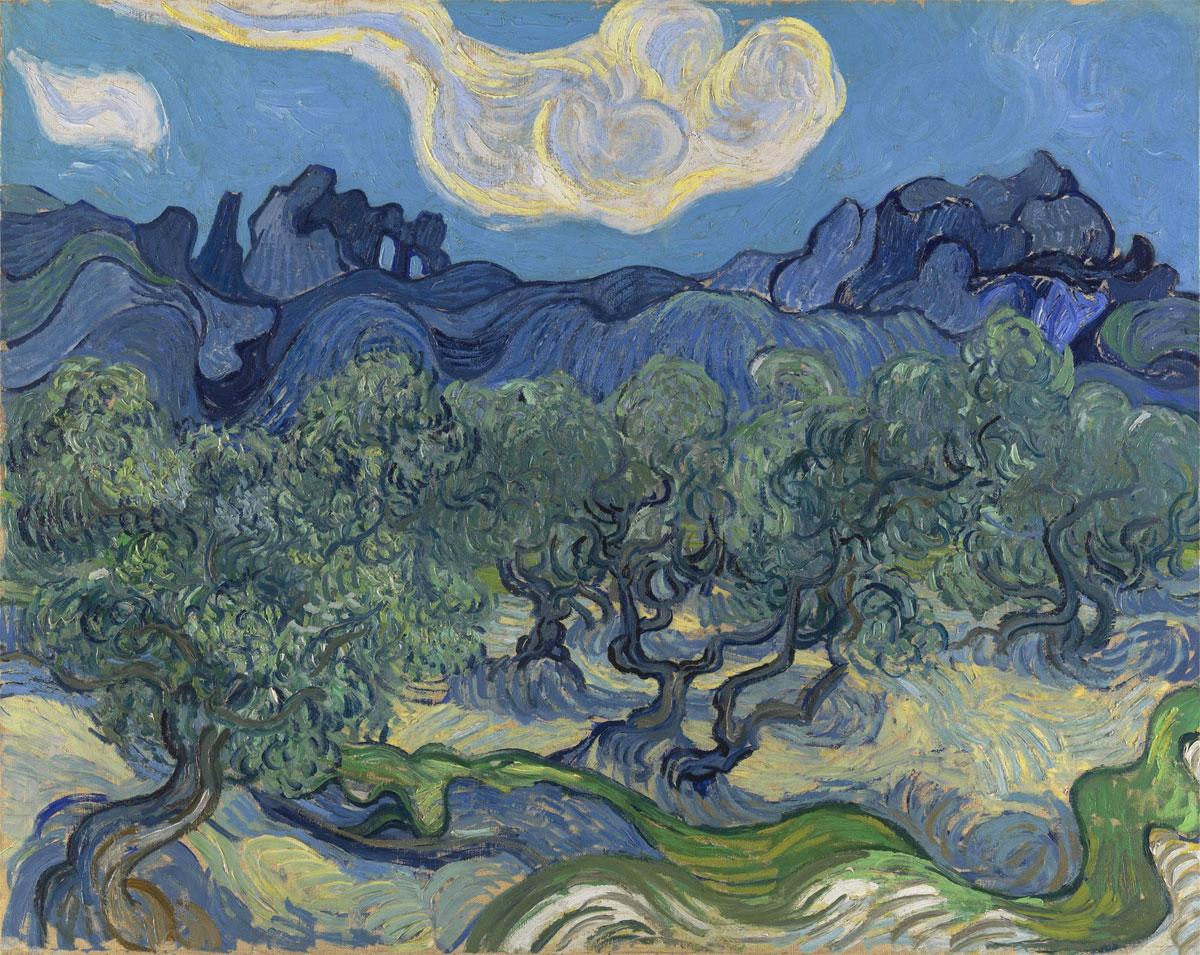 Gli Ulivi - Oliveto - Olive Trees - Van Gogh