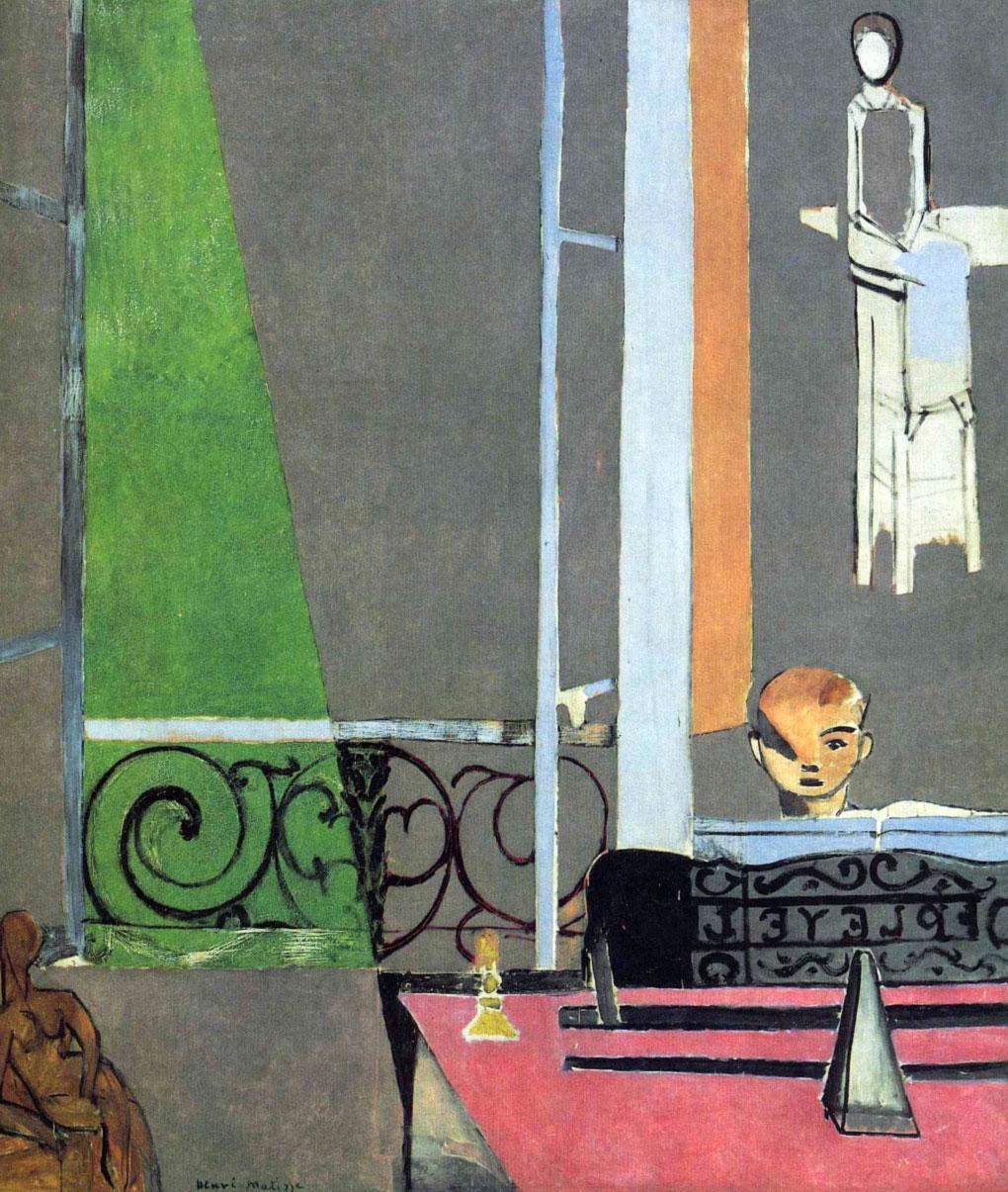 Lezione di piano - Piano lesson - La Leçon de piano - Matisse