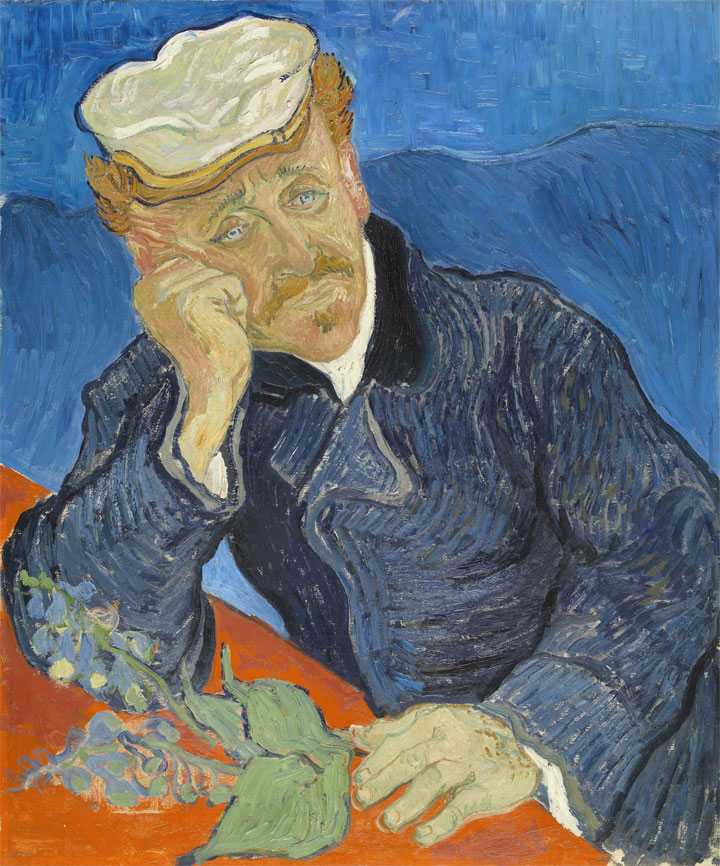 La seconda versione del ritratto di Paul Gachet