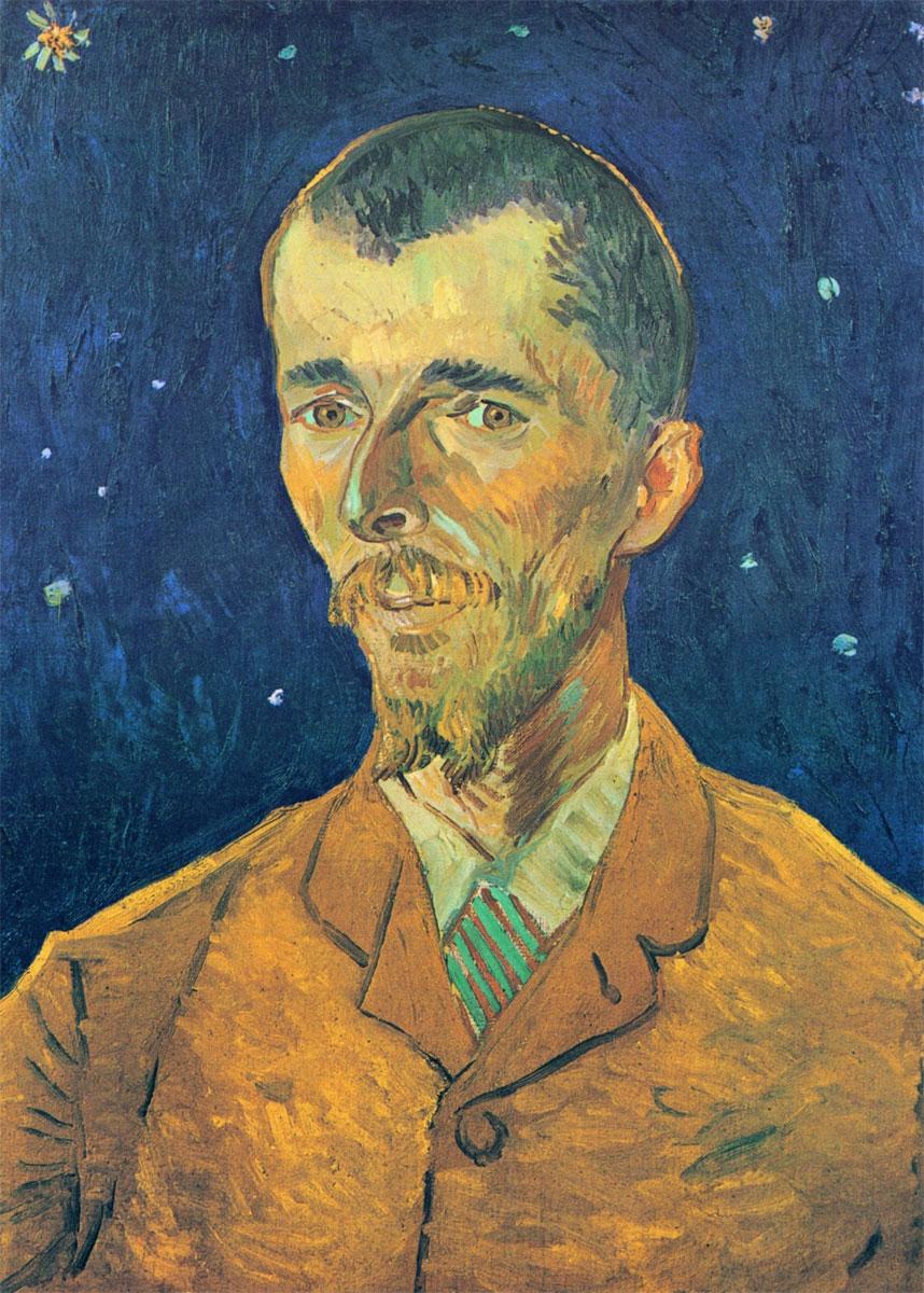 Ritratto di Eugene Boch - Vincent van Gogh - 1888