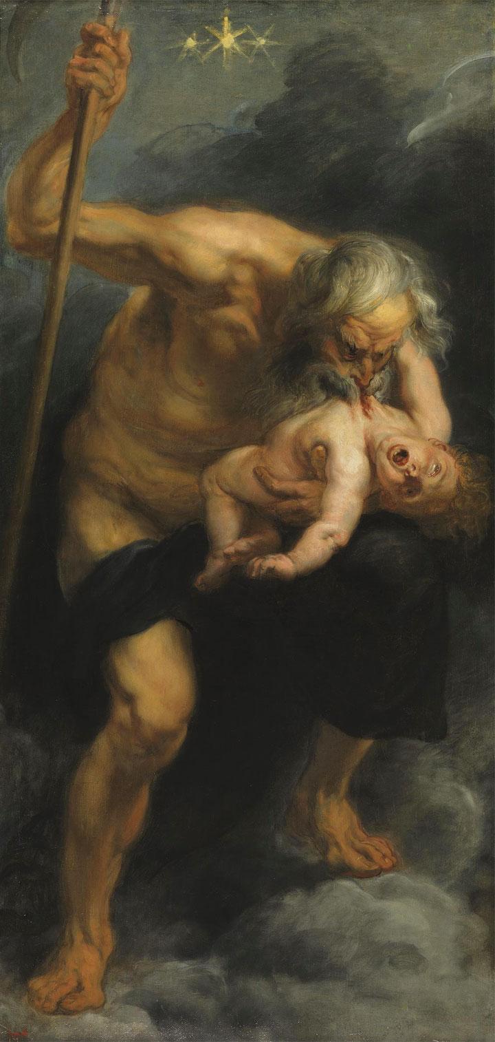 Saturno che divora suo figlio - Rubens