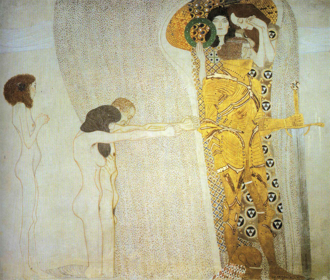 Anelito della felicità - Klimt