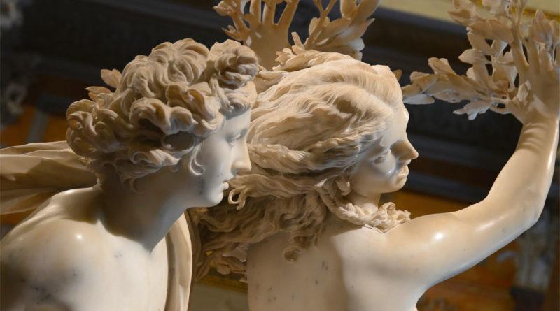 Apollo Dafne statua