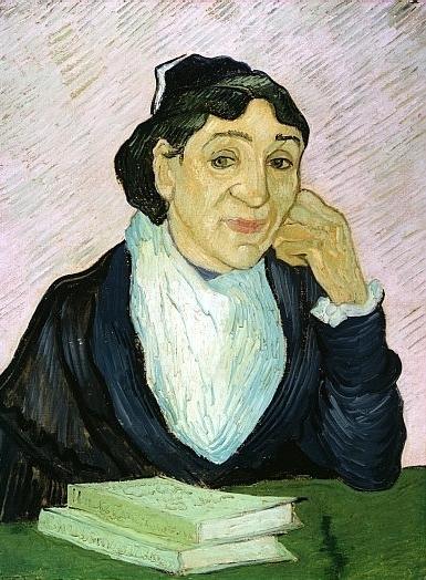 Arlesiana - Van Gogh - 1890 - Otterlo