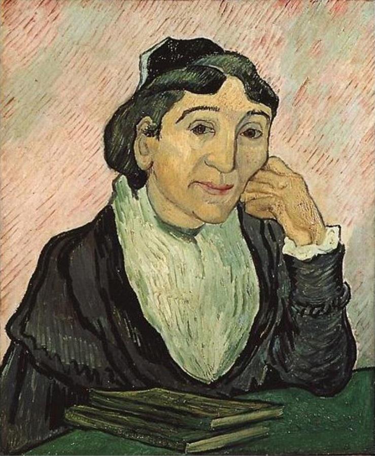 Arlesiana - Van Gogh - 1890 - Roma