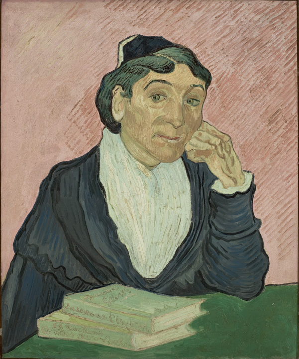 Arlesiana - Van Gogh - 1890 - Sao Paulo