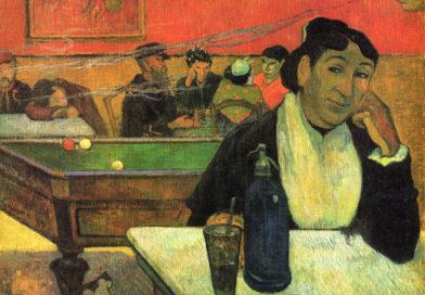 Caffè di notte ad Arles (Madame Ginoux), quadro di Gauguin