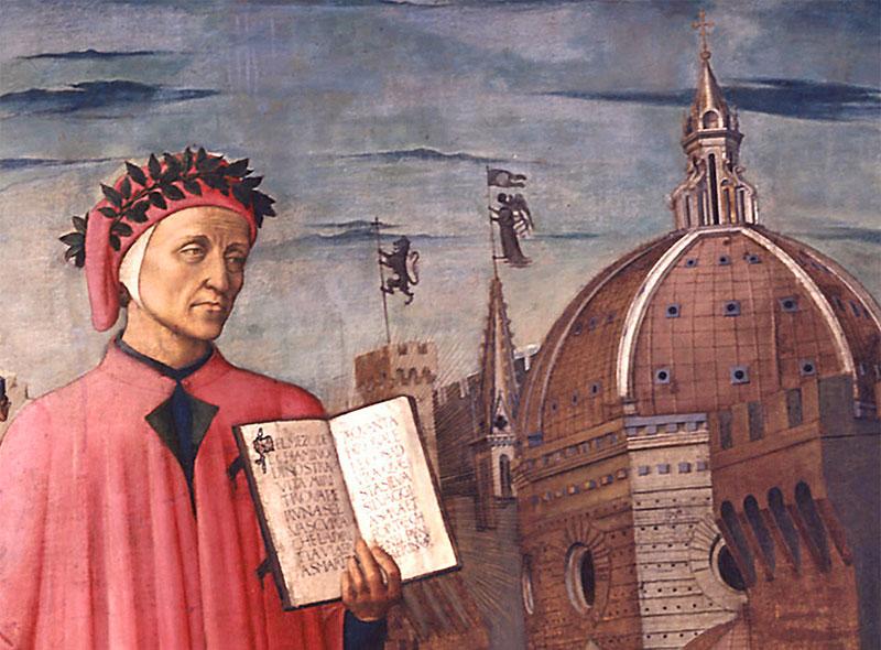 """Dante inserì nel XXVI canto del Purgatorio la figura di Guido Guinizzelli, autore della lirica""""Al cor gentil rempaira sempre amore"""""""