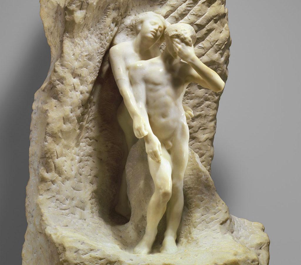 Orfeo ed Euridice - Rodin - scultura