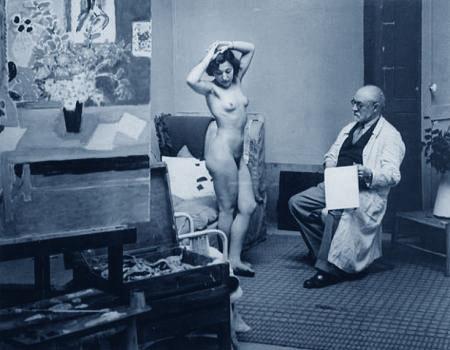Henri Matisse e una sua modella