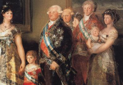 La famiglia di Carlo IV, opera di Goya
