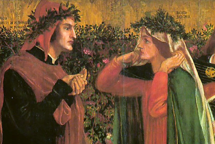 Dante e Beatrice, Stilnovismo, Dolce stil novo