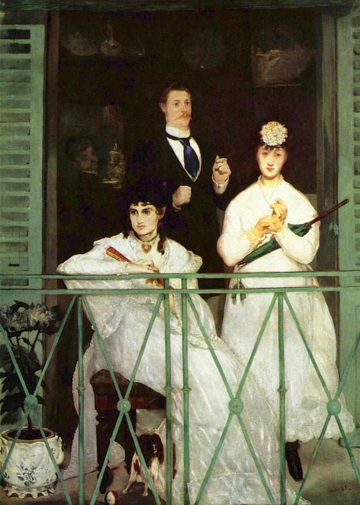 Il balcone di Manet