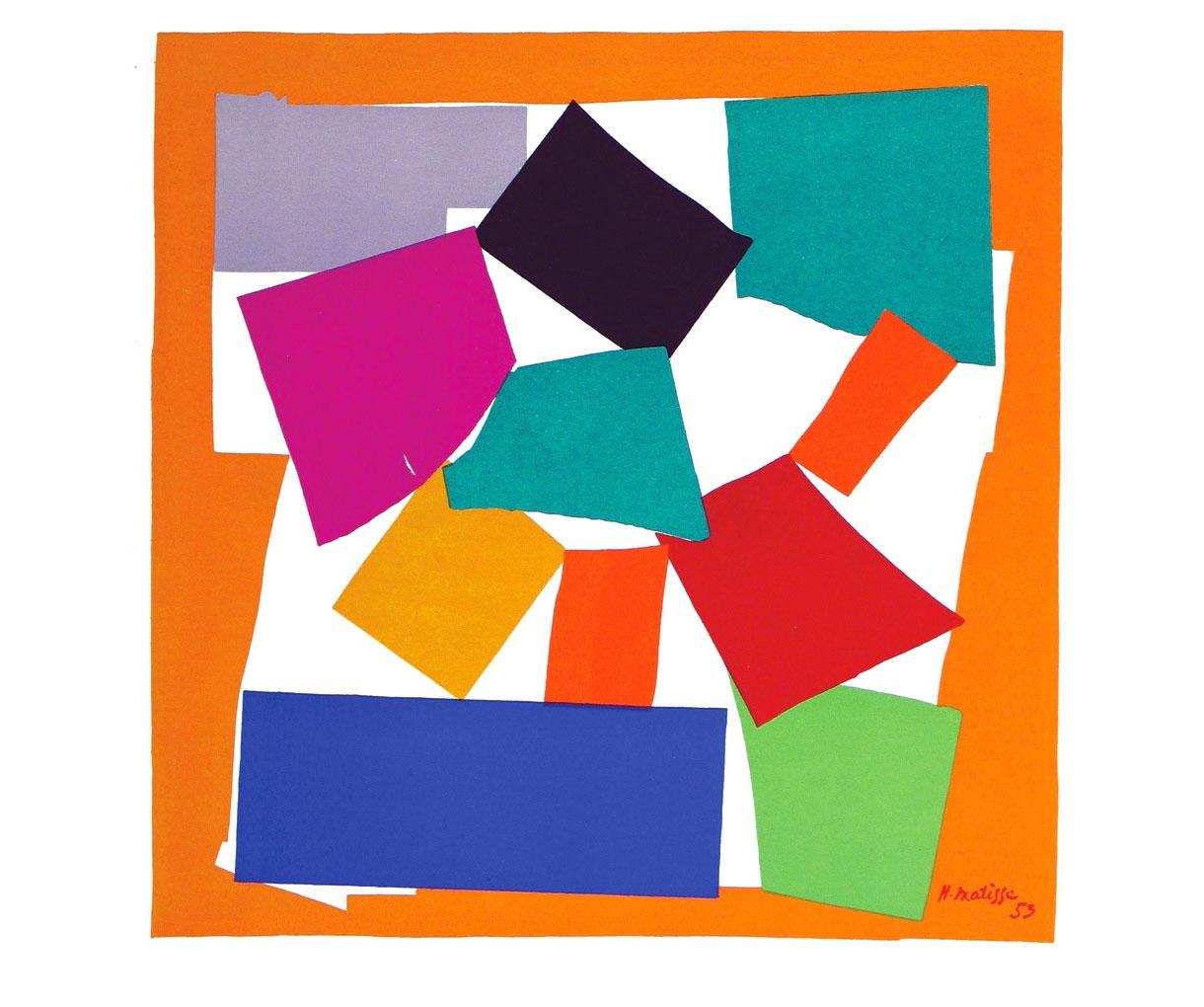 L'Escargot (La lumaca) - Matisse - 1953