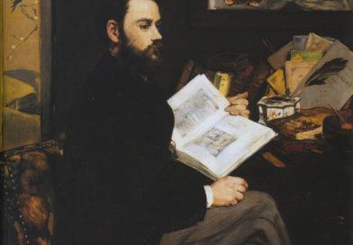 Ritratto di Émile Zola, quadro di Manet