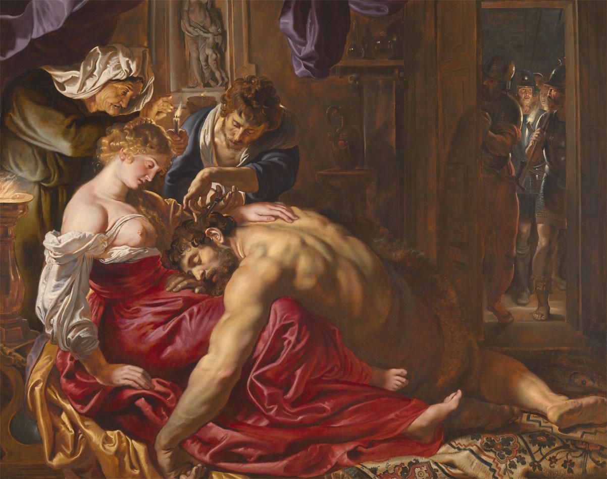 Sansone e Dalila - Rubens