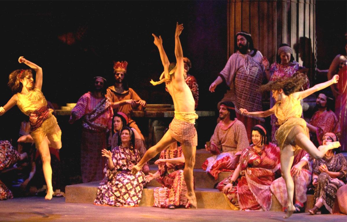 Sansone e Dalila - Scena danza del Baccanale