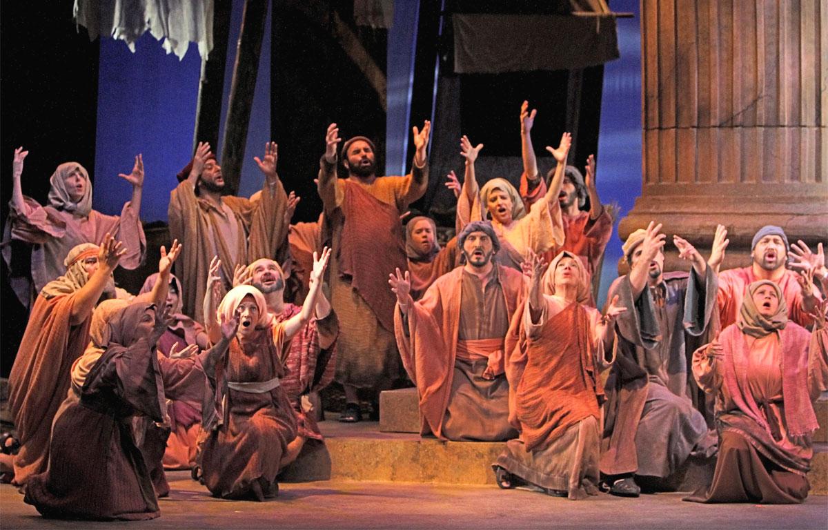 Sansone e Dalila - coro degli ebrei