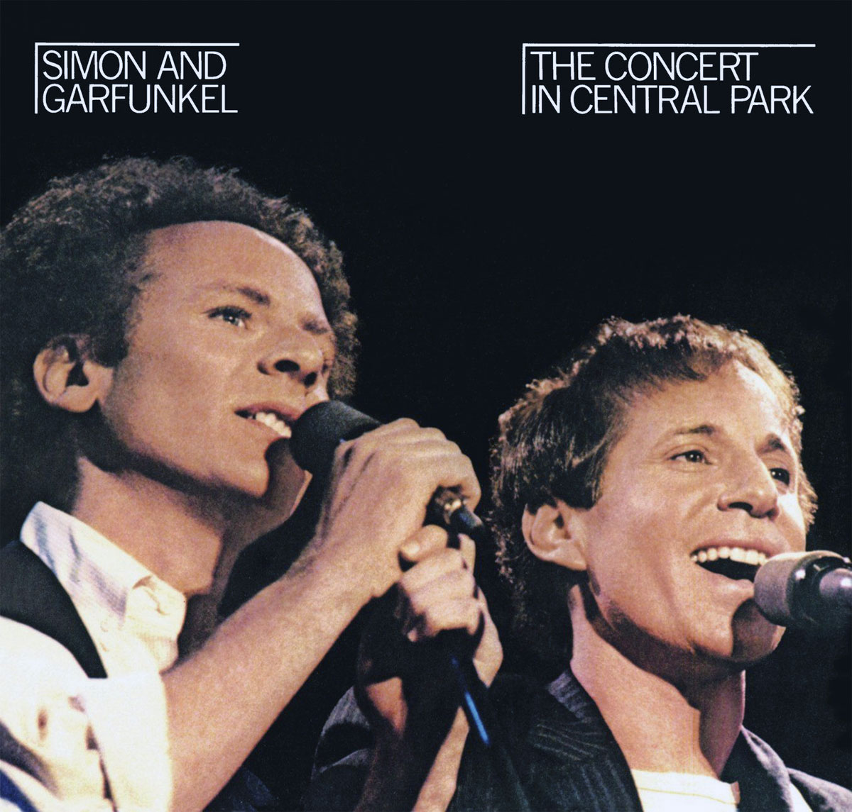 Simon e Garfunkel - The Concert in Central Park - copertina disco
