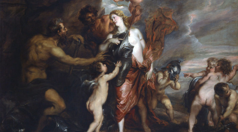 Venere nella fucina di Vulcano - Antoon van Dyck