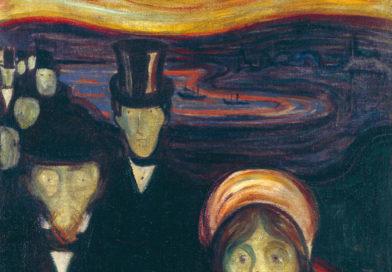 L'Ansia (Anxiety) o Angoscia, dipinto di Munch
