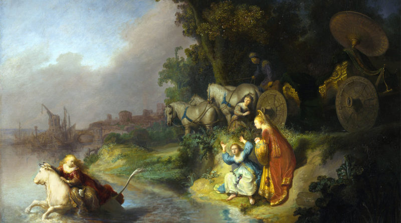 Il rapimento di Europa - Rembrandt - The Abduction of Europa - 1632