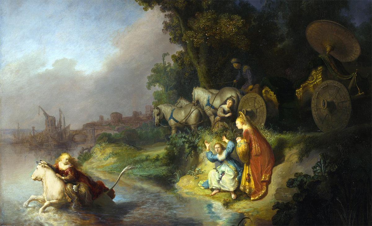 Il rapimento di Europa - Rembrandt - The Abduction of Europa - 1632