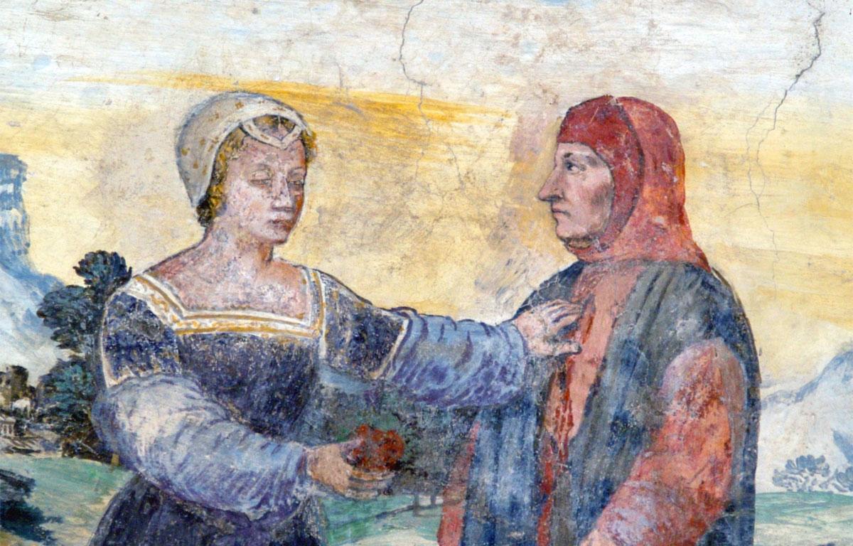 Laura e Francesco Petrarca - Pace non trovo