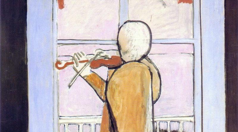 Le Violoniste a la fenetre - The Violinist at the window - 1918 - Matisse