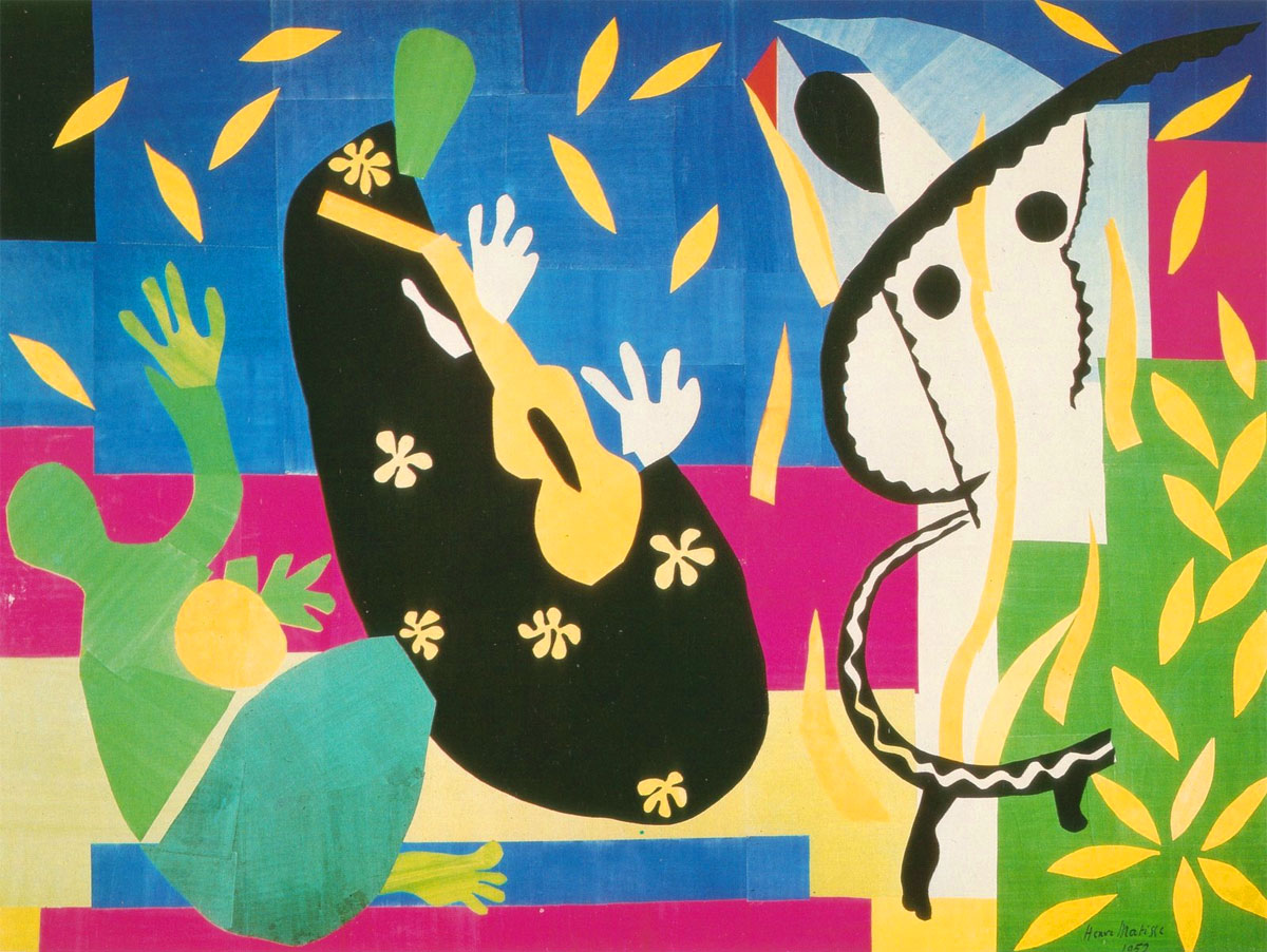Tristezza - Tristezza del re - Sorrow of the king - Matisse - 1952