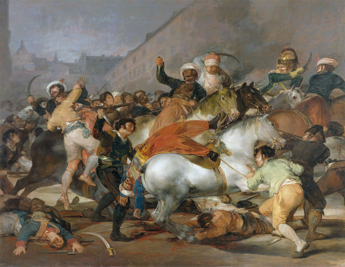 2 maggio 1808 - quadro - Goya