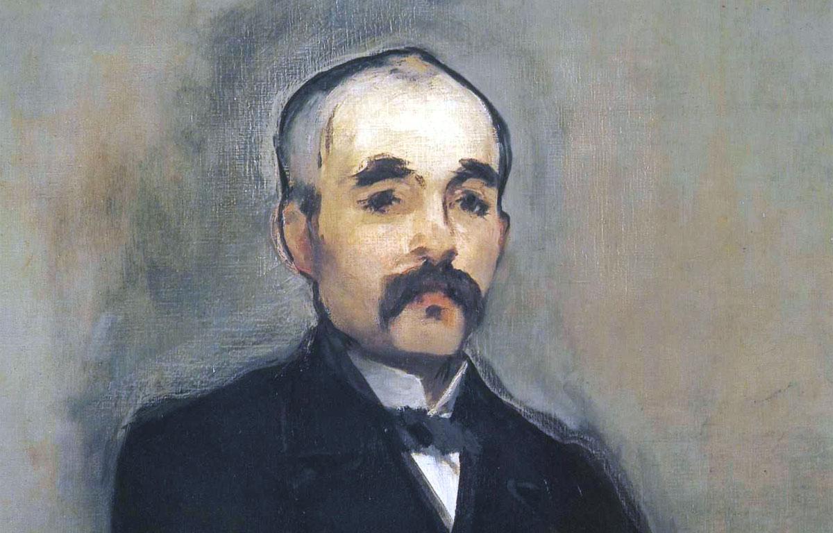 Georges Clemenceau - portrait - Manet