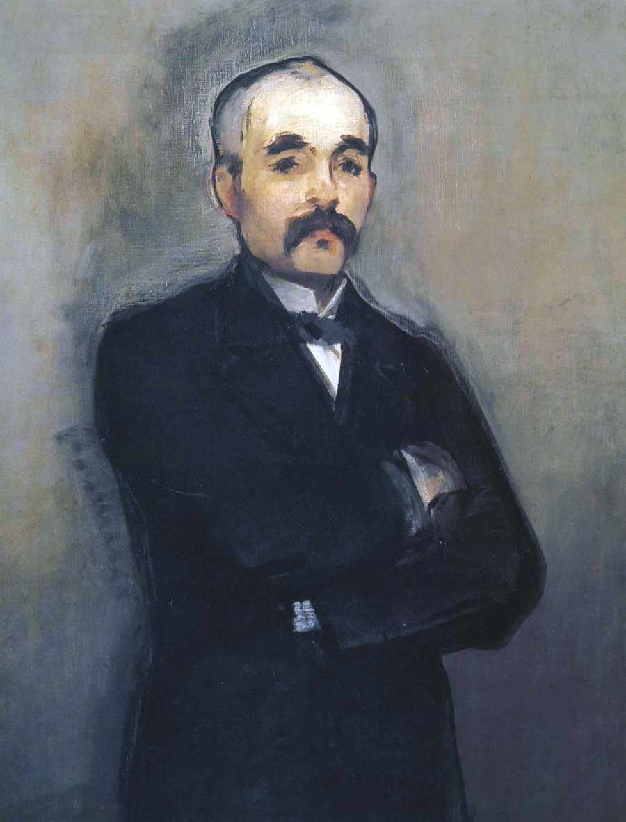 Georges Clemenceau - ritratto - Manet