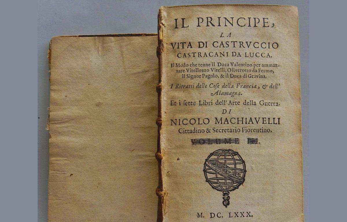 Il Principe - Machiavelli - Riassunto
