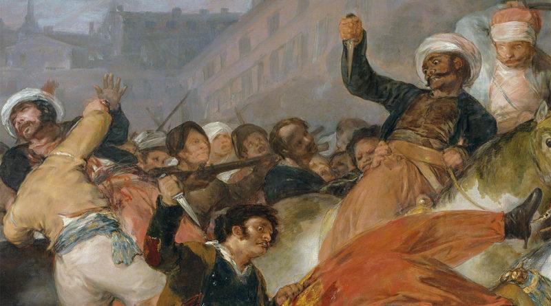 detttaglio - 2 maggio 1808 - quadro - Goya