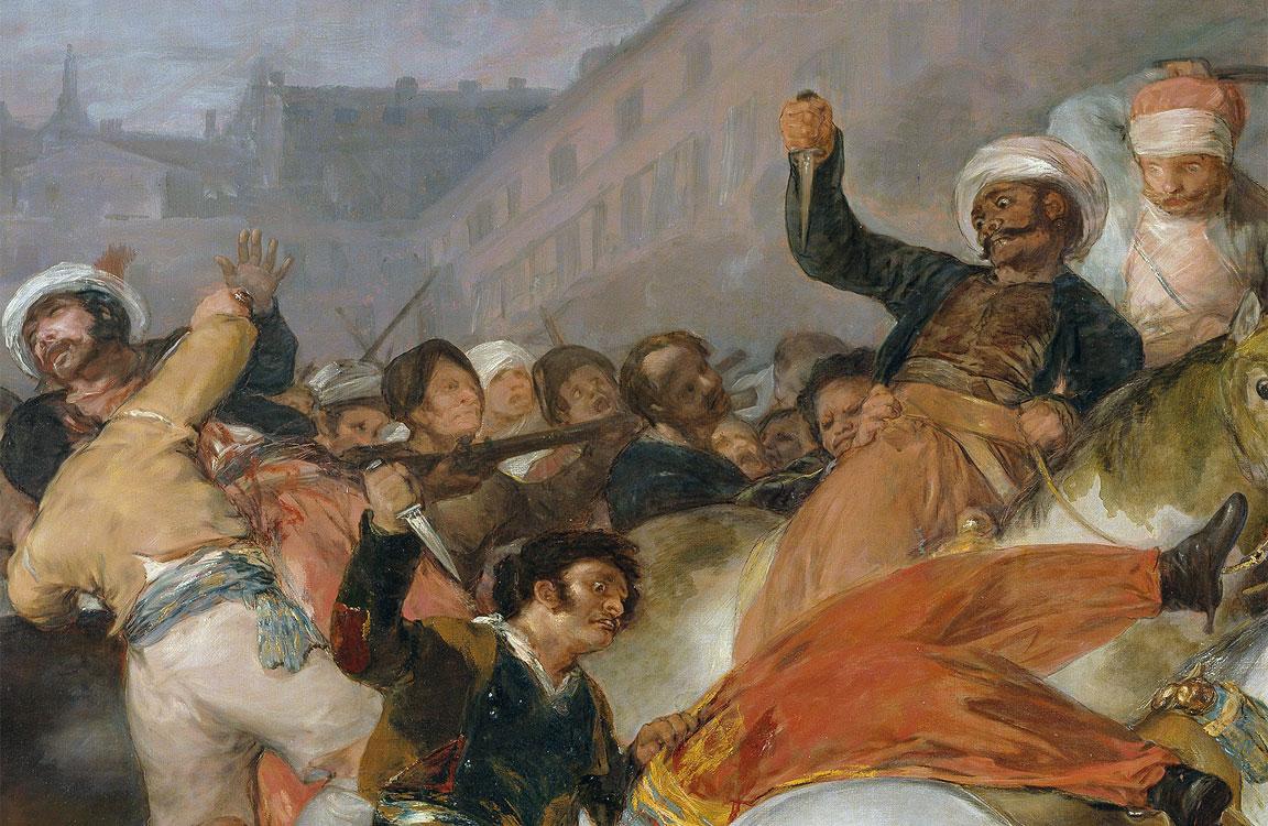 dettaglio - 2 maggio 1808 - quadro - Goya
