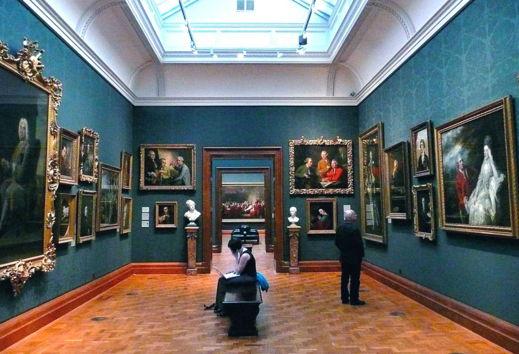 National Gallery Londra - foto quadri