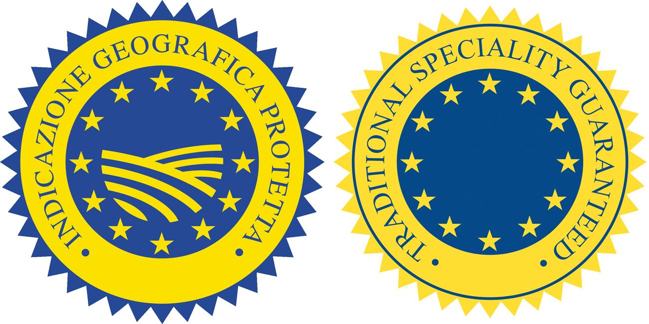 IGP (Indicazione geografica protetta), IGT (Indicazione geografica tipica), STG (Specialità tradizionale garantita)