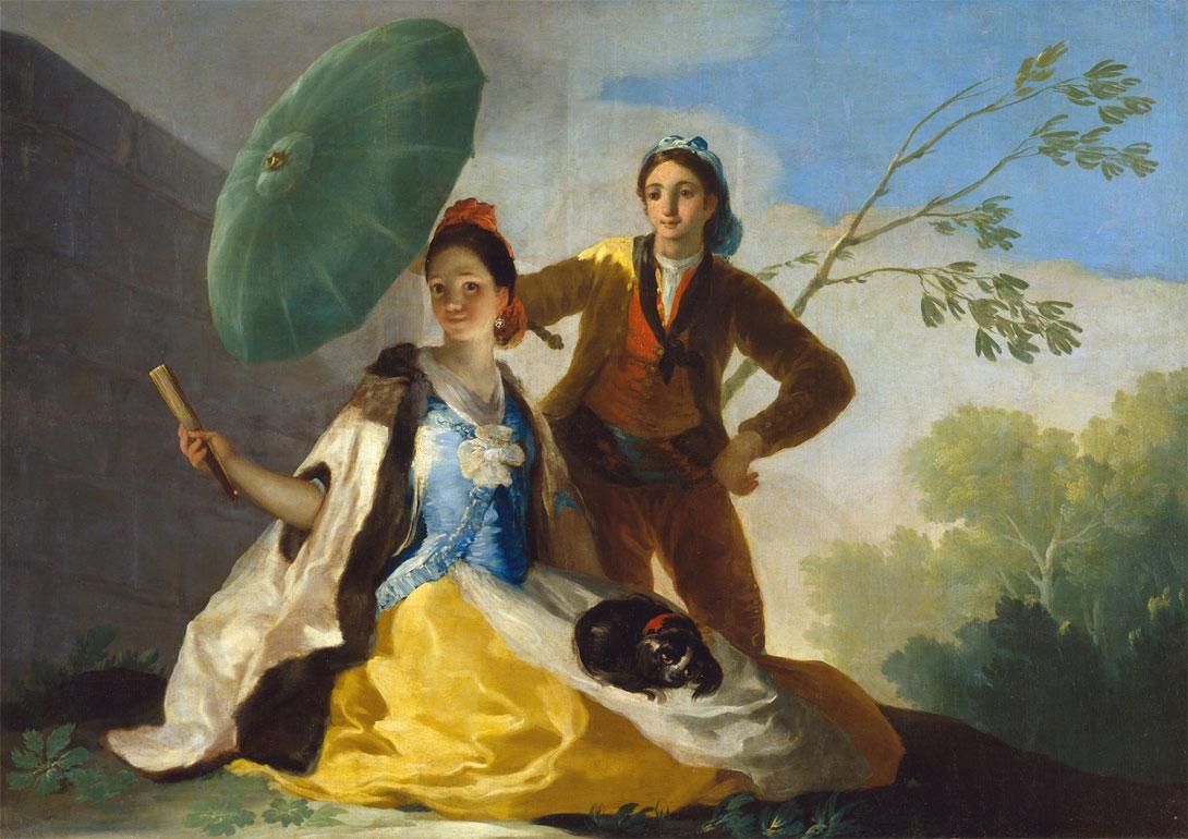 Il parasole - Goya - El quitasol - The Parasol - 1777
