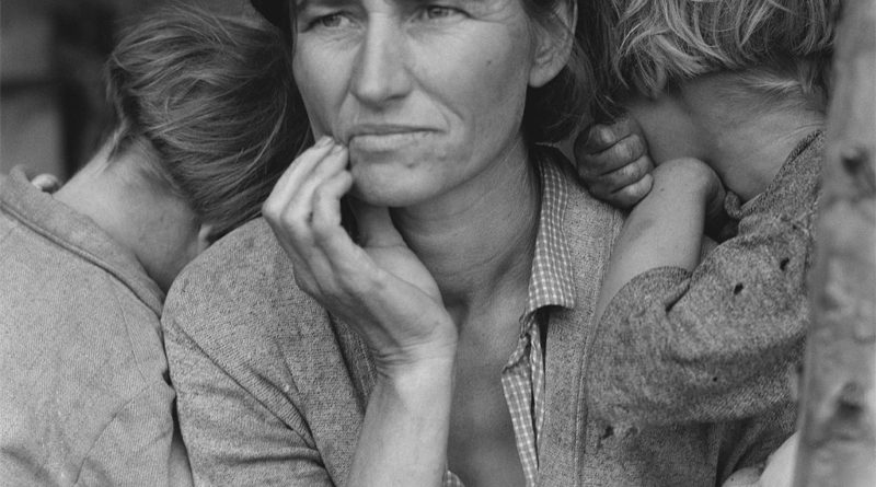 Migrant Mother - Florence Owens Thompson - foto - photo - pic by Dorothea Lange