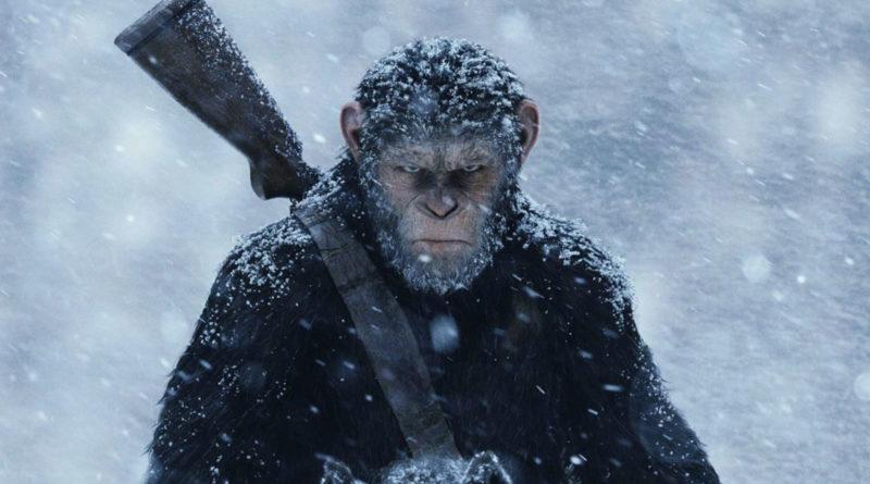 The War - Il pianeta delle scimmie - scena