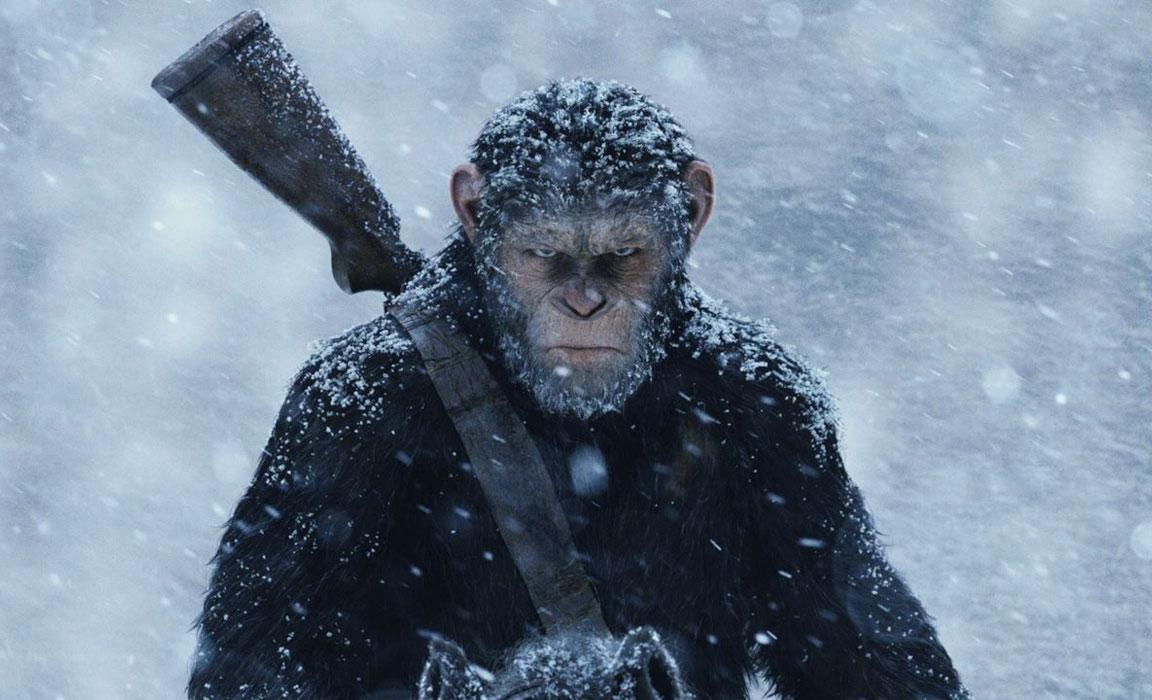 The War - Il pianeta delle scimmie - scena (Cesare)