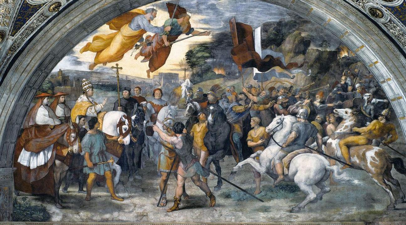 Papa Leone Magno e Attila - Raffaello