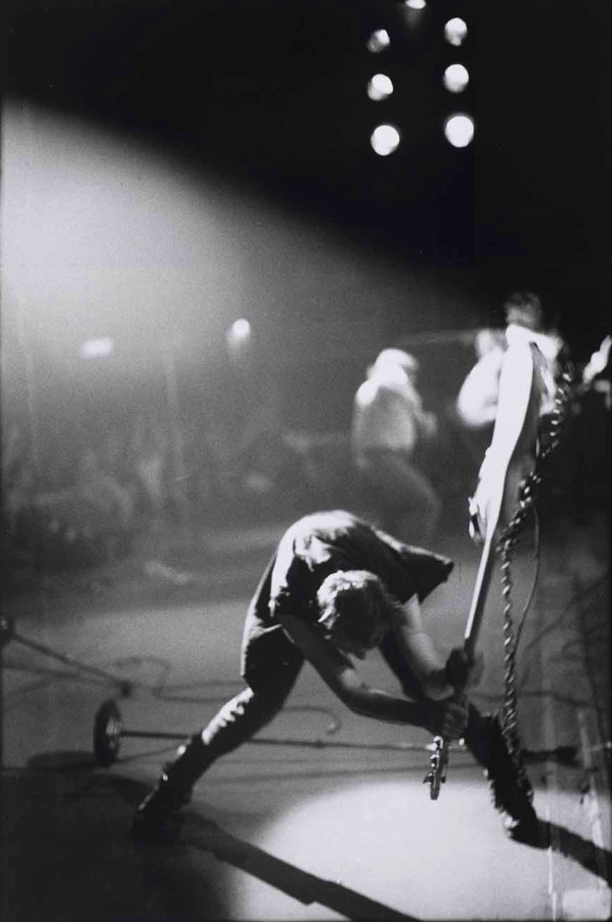 The Clash - London Calling - Famous rock photo - Pennie Smith