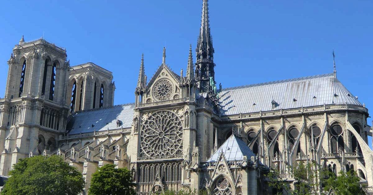 an analysis of the catholic cathedral notredame Quebec city: notre dame cathedral the history of notre dame cathedral in quebec city: in 1629, british privateers took over quebec and sent all the french settlers.