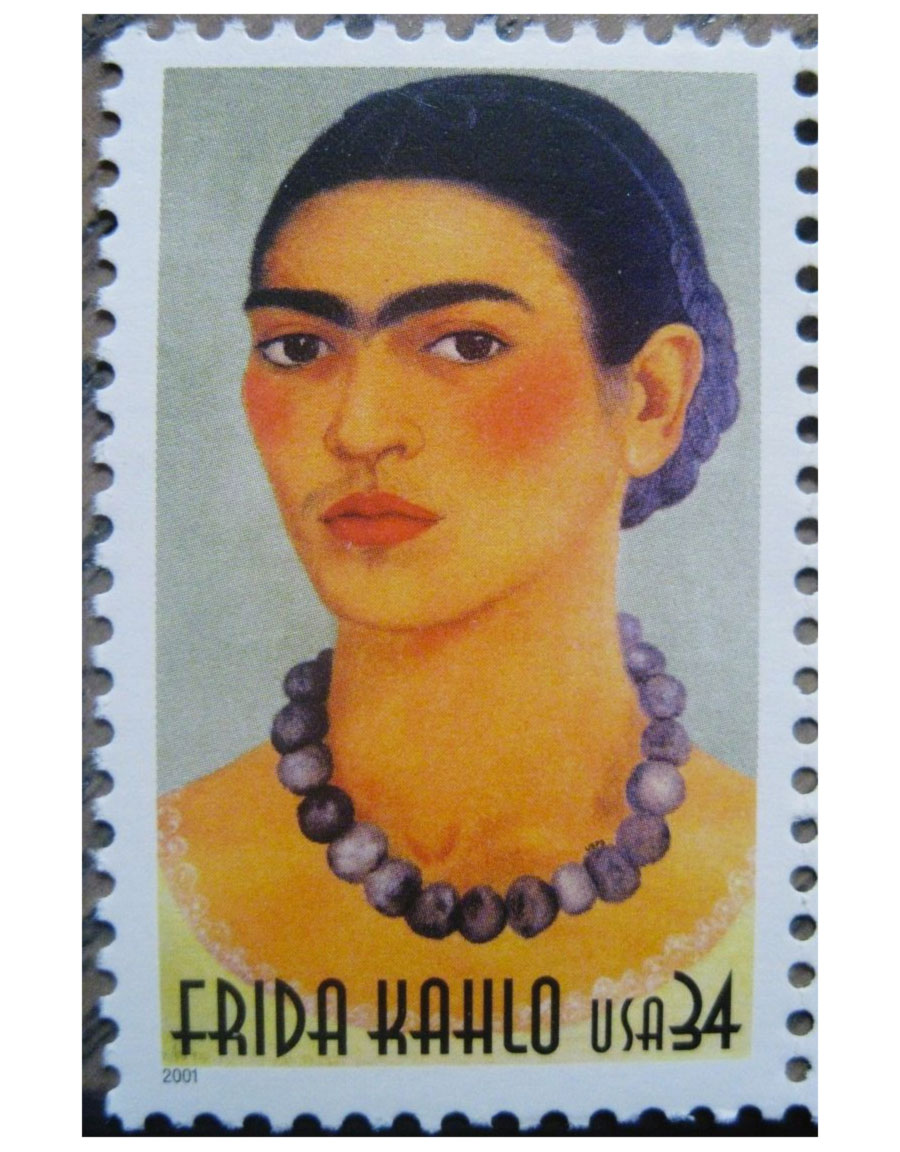 Frida Kahlo - Francobollo - stamp - USA - June 2001